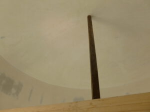 Holz Dachkuppel Nachher