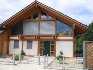 Holzhausbau Modern
