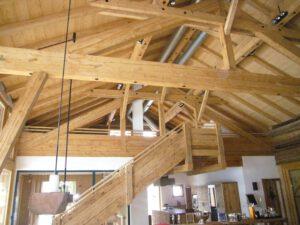 Innenausbau Holzhaus
