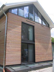 Fensterfront Holzhaus