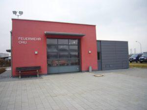 Fensterrolltor Feuerwehr