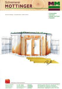 Planung Holzgartenhaus
