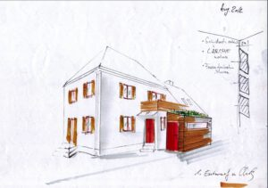 Planung Außenanlage Haus